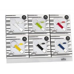 EXPOKIT 1X6 PORTACHIAVI USB